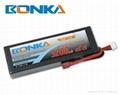 Bonka-5200mah-2S2P-65C RC car battery