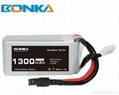 Bonka Power GR 1300mAh 80C 4S1P