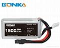 Bonka Power GR 1500mAh 80C 4S1P