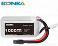 Bonka Power GR 1000mAh 80C 4S1P