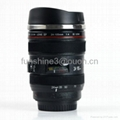 best selling caniam 24-105mm 5 generation camera lens mug with sipping cover