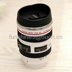 caniam 24-105mm 5 generation white camera lens mug