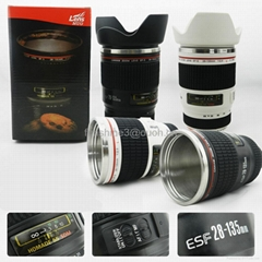 caniam 28-135mm 2nd white coffee mug camera lens