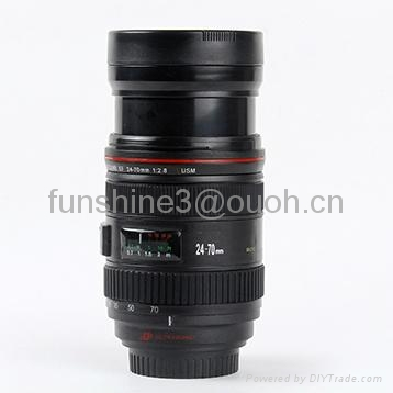 caniam 24-70mm zoomable camera lens double wall coffee mug 1