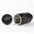 caniam 24-70mm zoomable camera lens double wall coffee mug 4