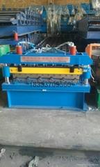 非洲專用1025單層導柱式壓瓦機設備