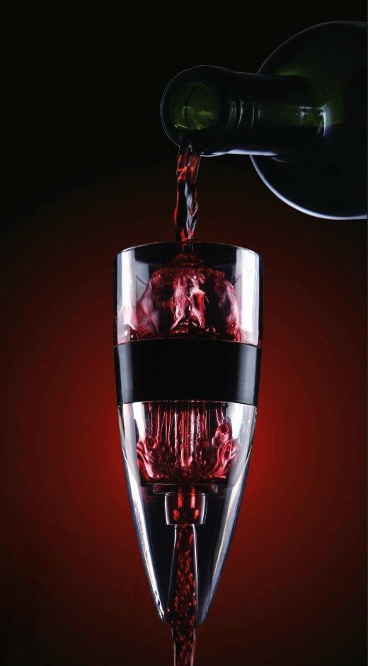 Global patented 3-step wine aerator 2
