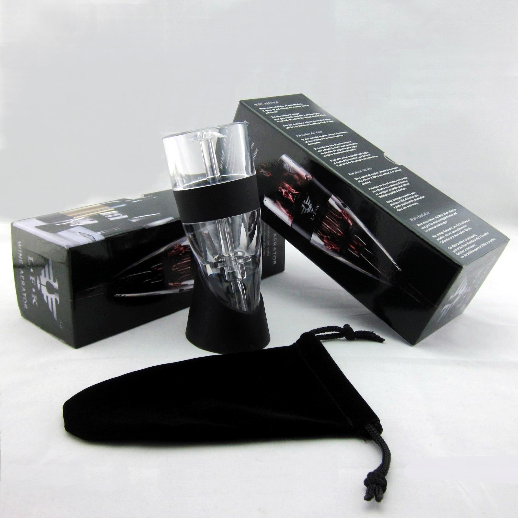 Global patented 3-step wine aerator 4