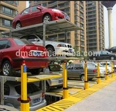Two levels car parking lift  high quality double deck park