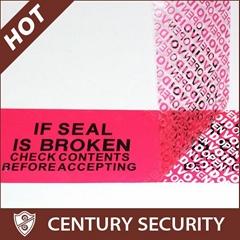 tamper evidence security tape