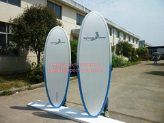 2015 nice dasign painting SUP boards, yoga stand up paddle boads