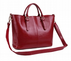 fashion Handbag real Leather backpack for women