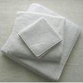 100% 棉平织漂白毛巾 3
