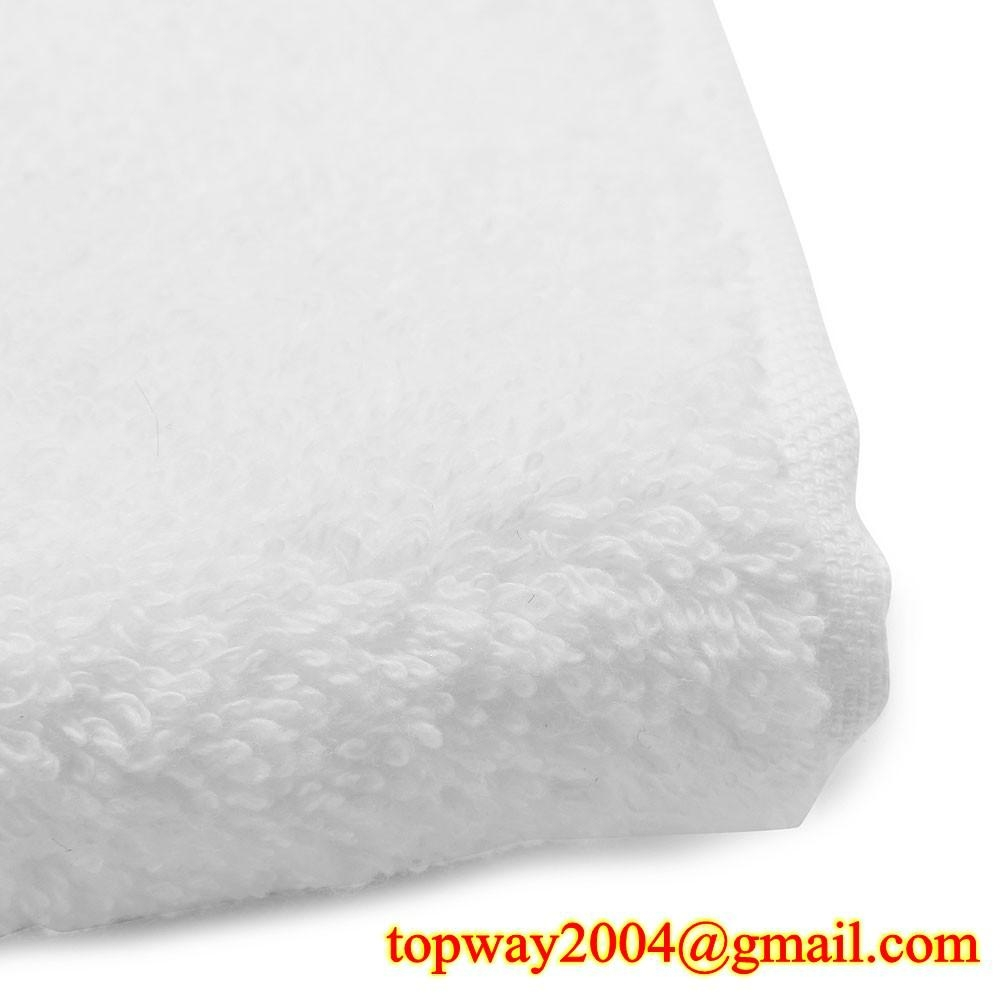 100% 棉平织漂白毛巾 2