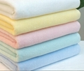 100% cotton piece dyed colorful towels