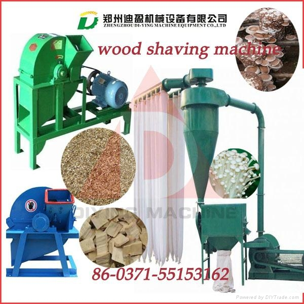 Best quality branded DY-420 Capacity(kg/h)  wood shavings machine/wood chipper 2