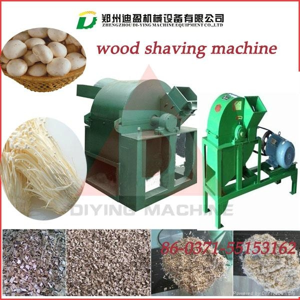 Best quality branded DY-420 Capacity(kg/h)  wood shavings machine/wood chipper 4