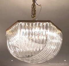 ceiling fan Lampshade Lighting Glassware Crystal Lampcover
