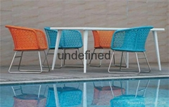 Rattan Table&Chair Sets