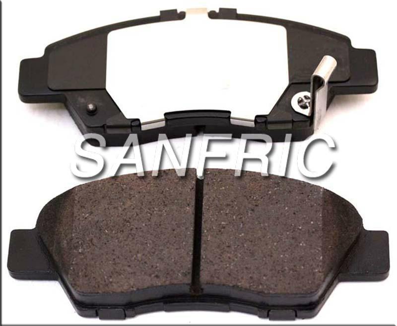 Disc Brake Pad Set-Galaxy Ceramic Disc Pads Front fits 07-12 Hyundai Veracruz