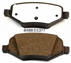 Sanfric NAO ceramic brake pads D1377-8488  R for FORD car Lincoln