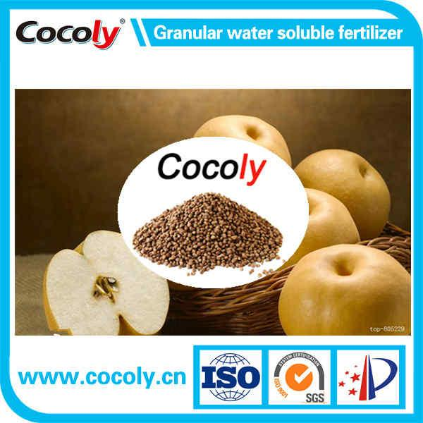 Cocoly complete nutritional water soluble fertilizer in granular shape 5