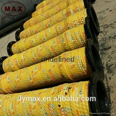 "12"" Dredging Rubber Slurry Hose with Pipe Floater"
