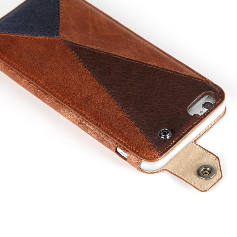 贵族猫Iphone6 头层牛皮手机保护套 3