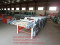 Six rollers flax processing machine