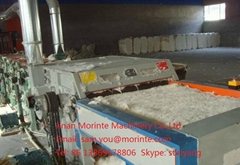 Cotton polyester yarn waste hard waste recycling machine