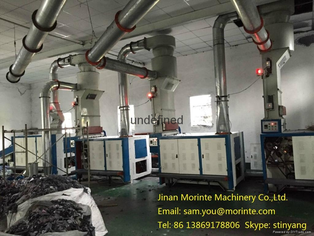 Fabric waste recycling machine for mattress quilt sofa filling 3