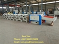 Cotton and polyester yarn waste recycling machine for open end yarn