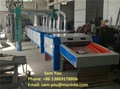 Yarn waste recycling machine for open