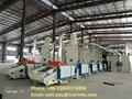 Waste garment opening machine at