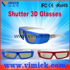 3D Fully Compatible Bluetooth Active Shutter Glasses Bluetooth Active Shutter 3D