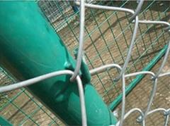 校区广场体育场专用勾花围栏网