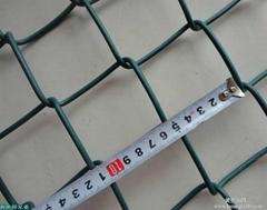 菱形勾花编织活络网可用操场围栏