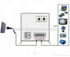 pure sine wave inverter DC-AC inverter 6000W/96VDC