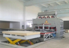 ASPL0003 -  6x9 Semi-Autmatic Hot Press Veneer Production Line