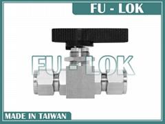 Fu-lok 不锈钢仪表球阀