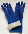 Blue sandy finished Jersey liner pvc