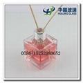 OEM manufacture designer perfume bottle glass aroma bottle with stick 2