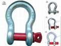 Drop Forged U. S. Type  Screw Pin Anchor Shackle