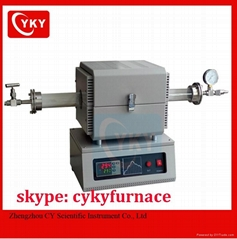 China made  lab mini vacuum tube furnace
