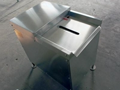 Single-type and double-type chicken gizzards stripping machine