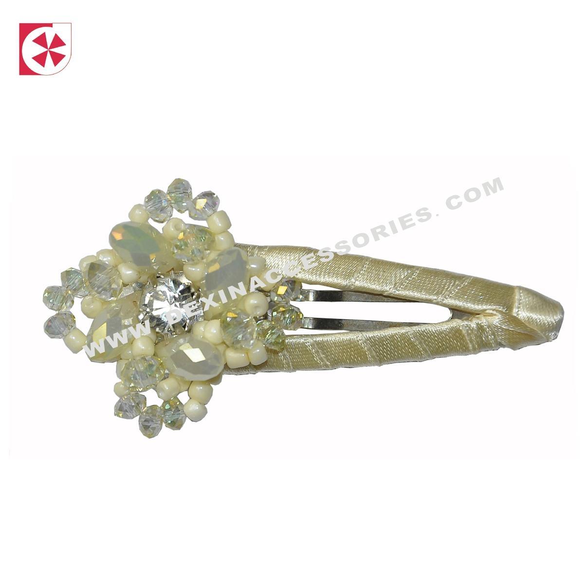 handmade crystal clip 1