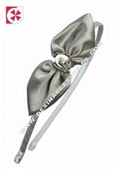 fabric bow tie headband