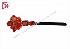 handmade rhinestone clip