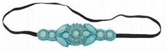 New Women Handmade Rhinestone Hairband