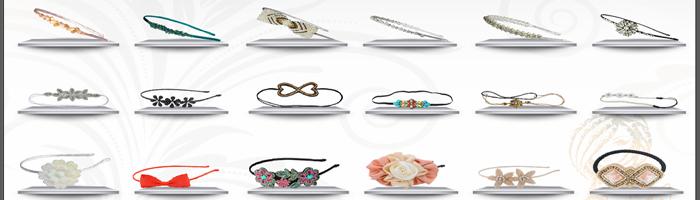 Women Handmade Rhinestone Crystal Hair Accessories 1